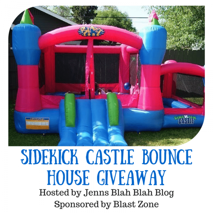 Sidekick Castle Bounce House Giveaway
