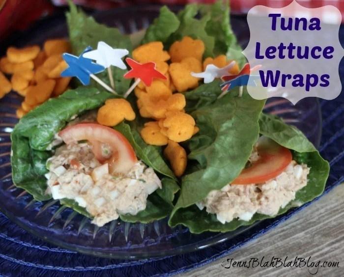 Tuna Lettuce Wraps Recipe