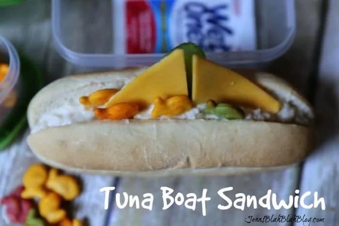 tuna boat sandwich for kids