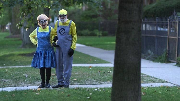 Kmart Halloween couples Minions costume