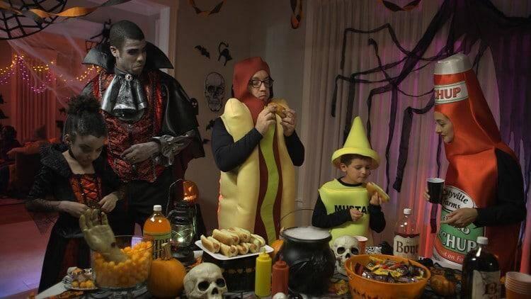 Kmart Halloween Hot Dog Costume