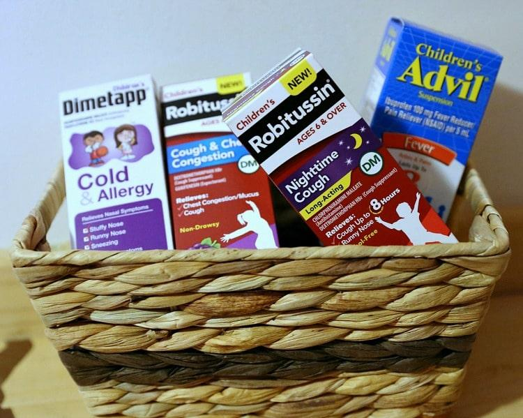cold medicine for kids