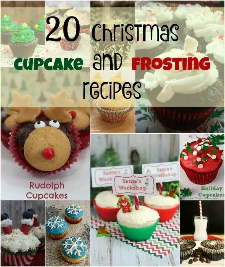 Christmas Cupcake and Frosting Recipes
