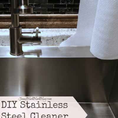 DIY Stainless Steel Cleaner + Cleaning Tips To Save Time