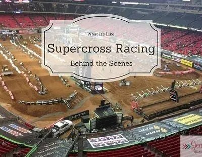 What It's Like To Go Behind The Scenes Of Supercross Racing