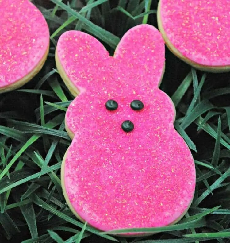 Cute Peeps Sugar Cookies Recipe