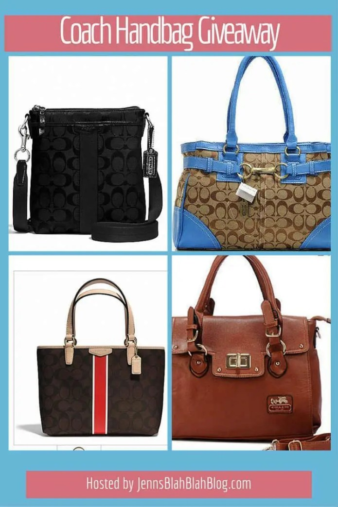 handbag giveaway coach