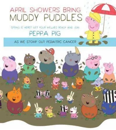 Peppa Pig's Favorite Charity, The Muddy Puddles Project.