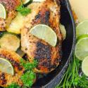 Citrus Chicken Cast Iron Skillet Recipe