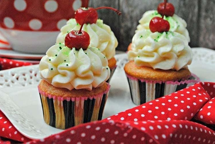 Shirley Temple Cupcakes 1
