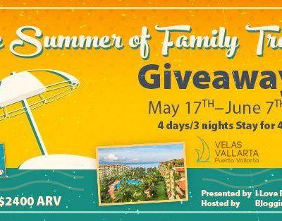 The Summer of Family Travel Giveaway