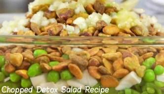 Chopped Detox Salad Recipe