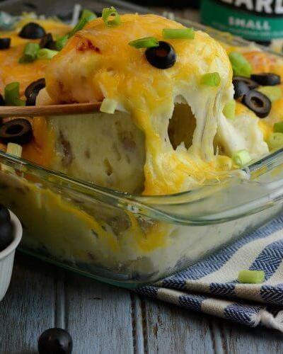 Yummy, Twice Baked Potato Salad Recipe
