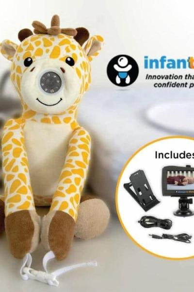 A Versatile Baby Monitor, To Use At Home, In The Car, And On The Go!