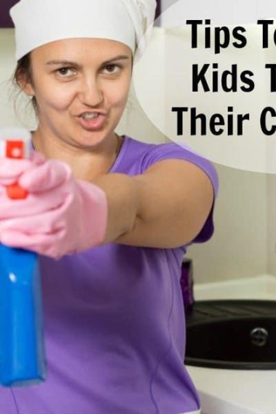 Tips To Get Kids To Do Their Chores + Cleaning Checklists