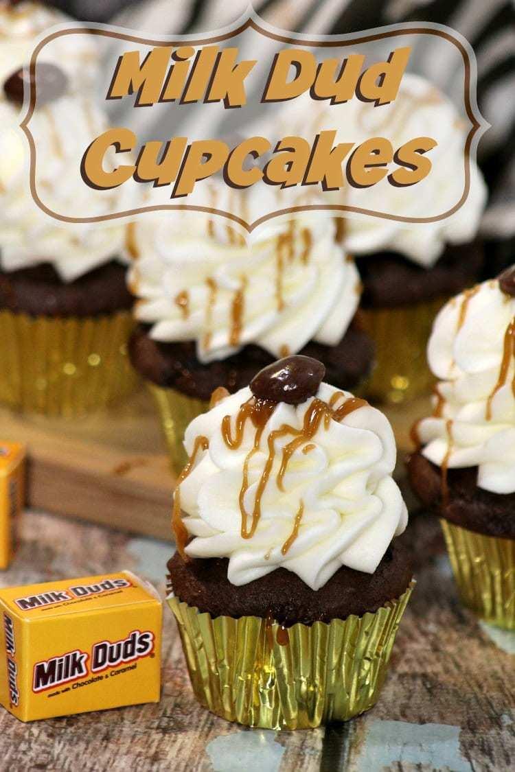 Milk Dud Cupcakes Recipe