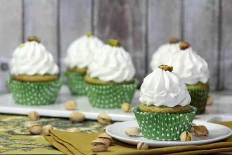 Pistachio Cupcakes 2
