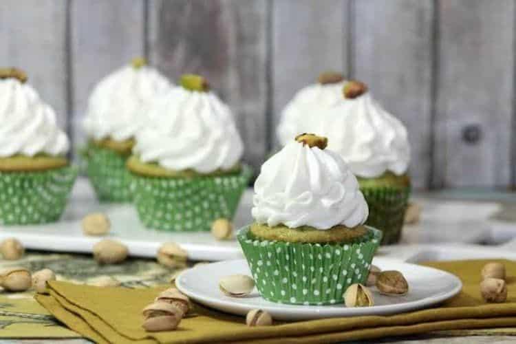 Pistachio Cupcakes 3