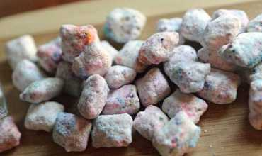 Tie-Dye White Chocolate Muddy Buddies