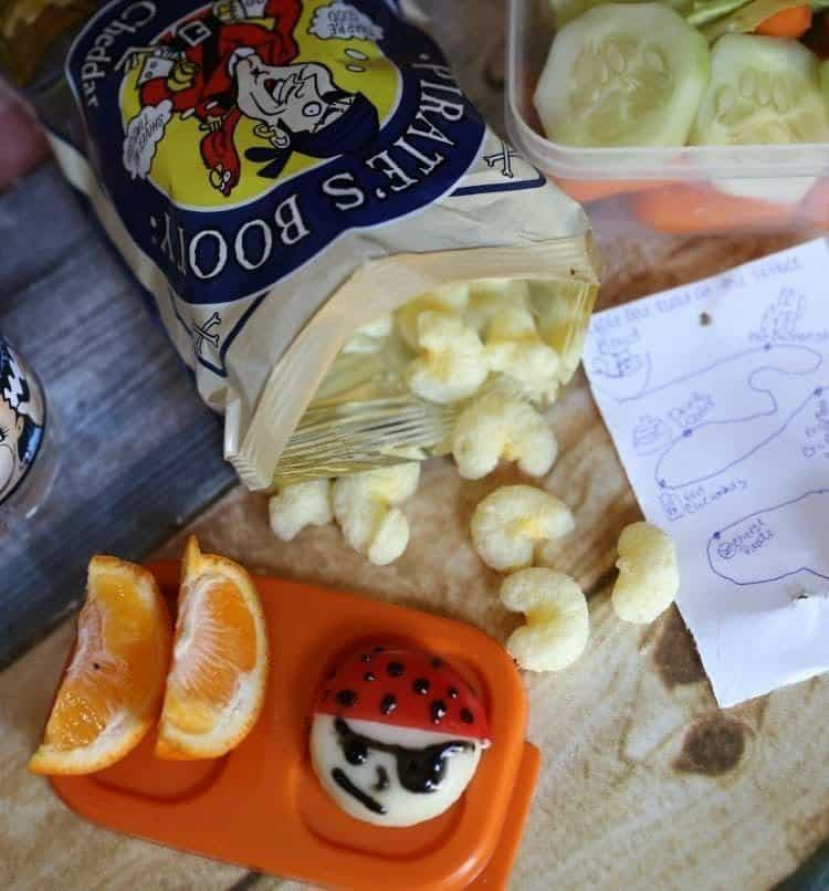 Easy Pirate Lunch Box Idea