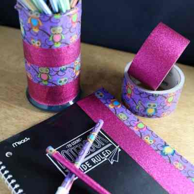 Upcycling Old Candle Holders With Duck Tape