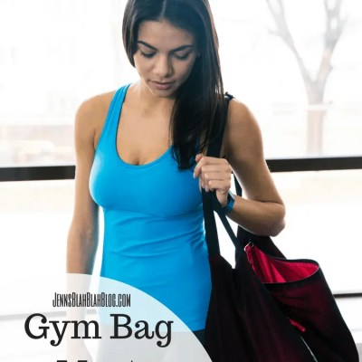 8 Gym Bag Must Have's