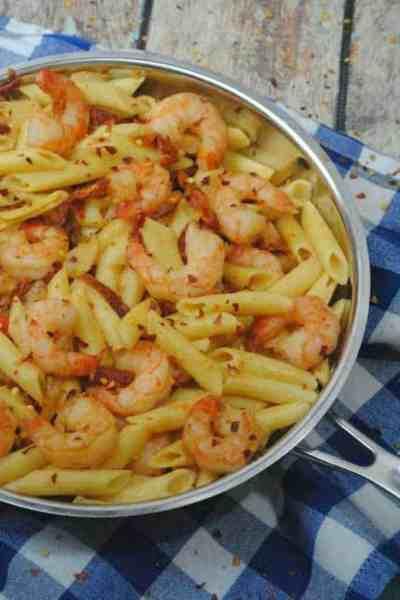 Try this AMAZING Shrimp Pasta Recipe
