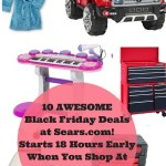 10 Black Friday Deals At Sears Online Starts 18 Hours Early!