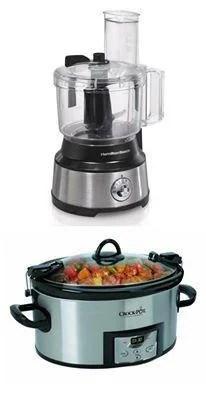 Hamilton Beach Food Processor & Crock-Pot Slow Cooker Giveaway