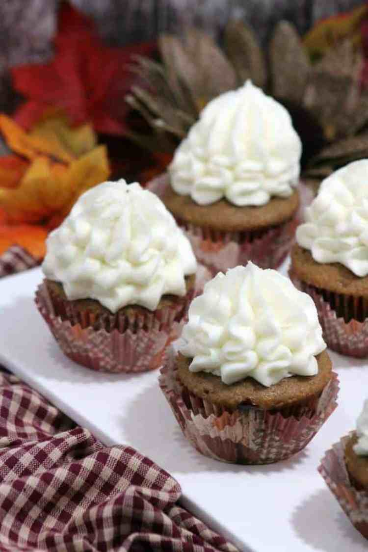 Sweet Potatoes Cupcakes Recipe