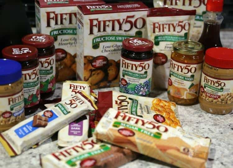 #Fifty50FoodsSweeps