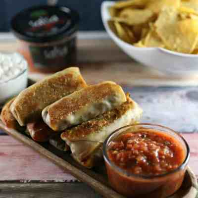 Baked Southwest Egg Rolls Recipe & Fresh Cravings Salsa