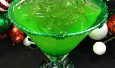 Grinch Sour Cocktail