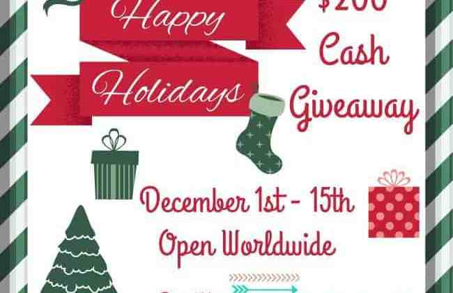 Holiday Cash Giveaway