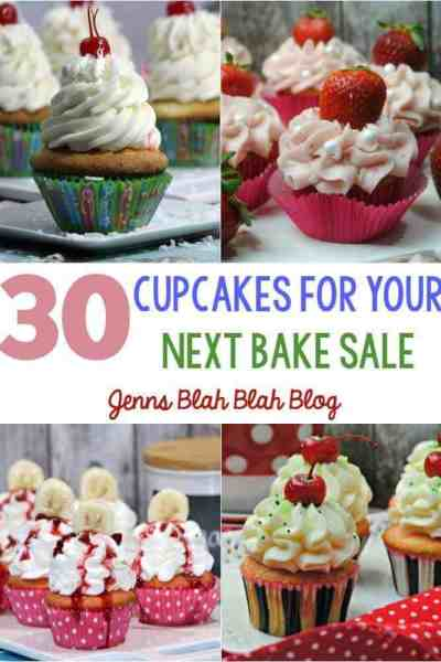 30 Cupcakes For Your Next Bake Sale