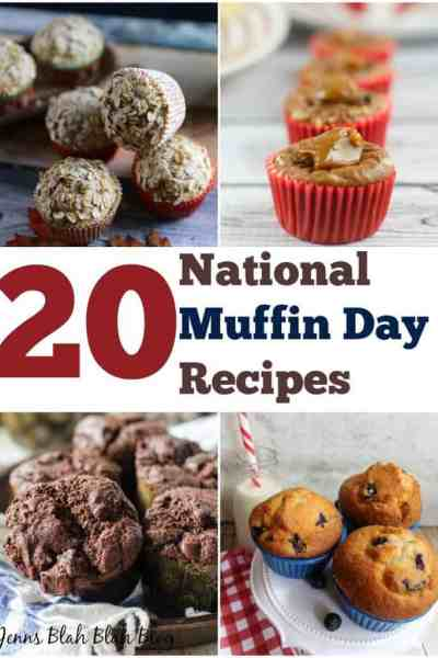 Top 20 National Muffin Day Recipes