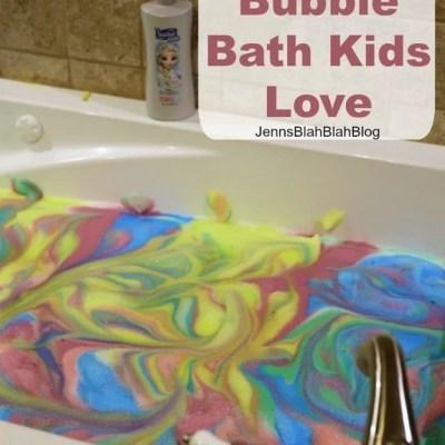 DIY Unicorn Bubble Bath Kids Love