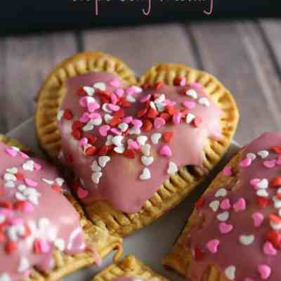 Homemade Breakfast Tarts with Grape Jelly Frosting Recipe
