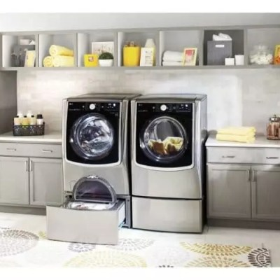 LG Front Load Washer and SideKick Benefits