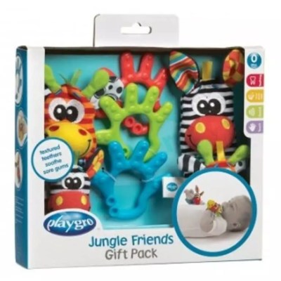 Playgro Jungle Friends Pack Review + Giveaway