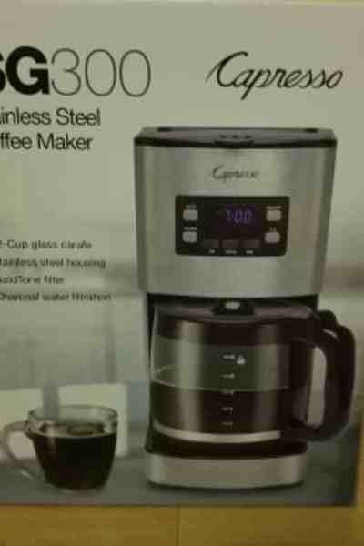 Capresso 12-Cup Coffee Machine Review