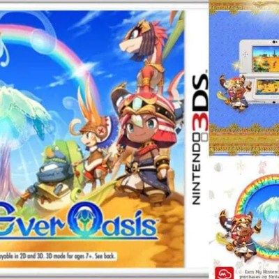 My Kid Loves Nintendo's Ever Oasis 3DS Game!
