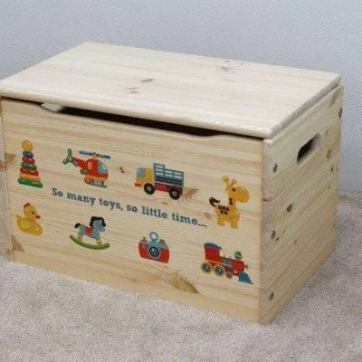 Little Colorado Customize Toy Box Review & Kickstarter