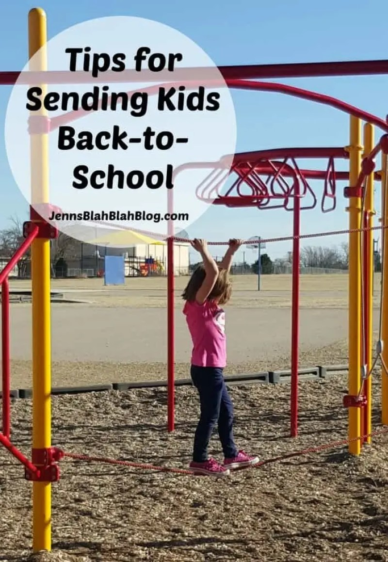 Tips for Sending Kids Back To School Excited