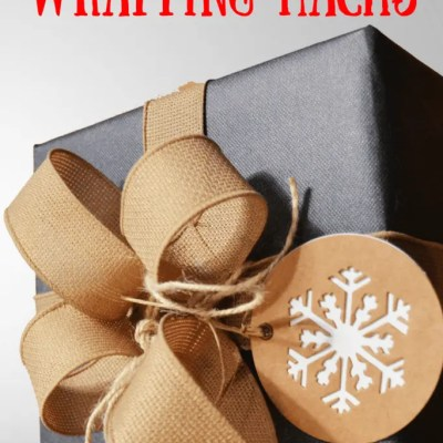 10 Christmas Gift Wrapping Hacks
