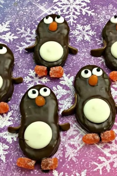 Cute Penguin Nutter Butter Cookies Recipe