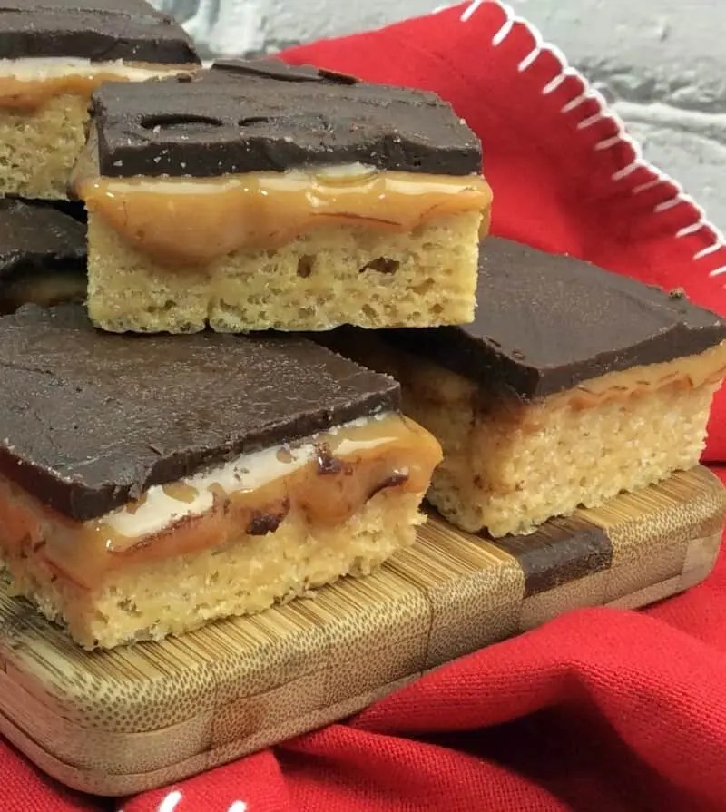Homemade Whatchamacallit Bars recipe
