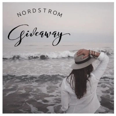 Don't Miss The Nordstrom Giveaway