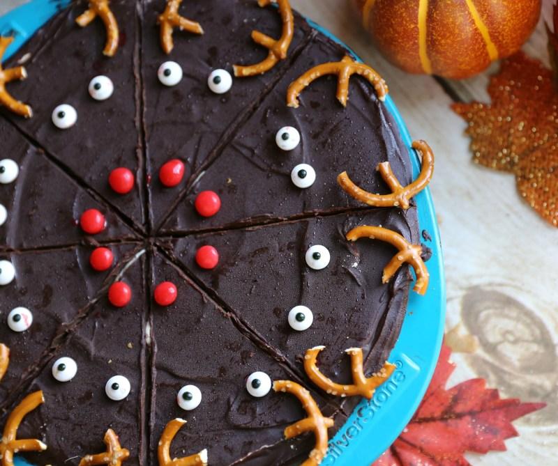 Caramel Peanut Butter Diet Coke® Reindeer Brownie Recipe