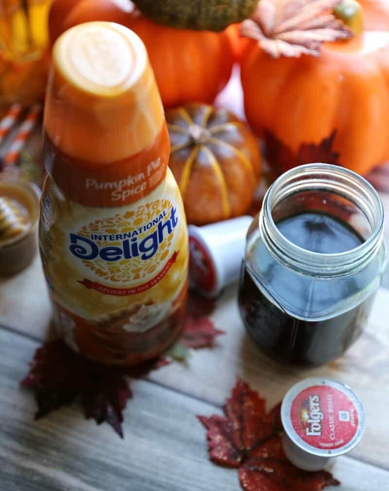 pumpkin pie spice creamer